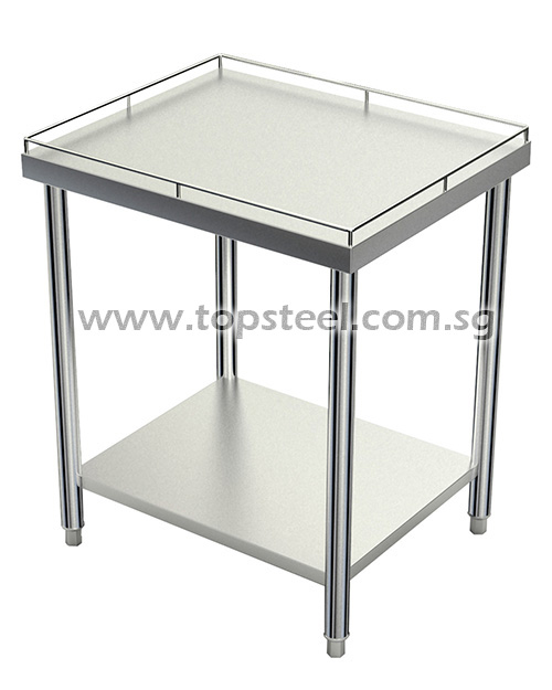 2 Tiers Table With Rod Surrounding